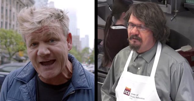 Gordon Ramsay Goes Undercover To Spy On A Former Student  Funny Video  eBaums World