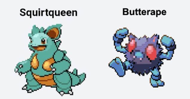 pokémon fusion memes are