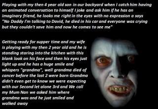 21 creepy things people