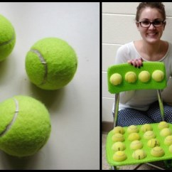 Ball Chairs For Students Big Fluffy Chair Teacher Glues Tennis Balls On The Reason Why Is Pure Genius