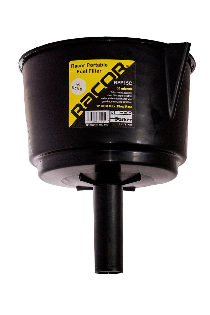 hight resolution of rff15c racor filter funnel