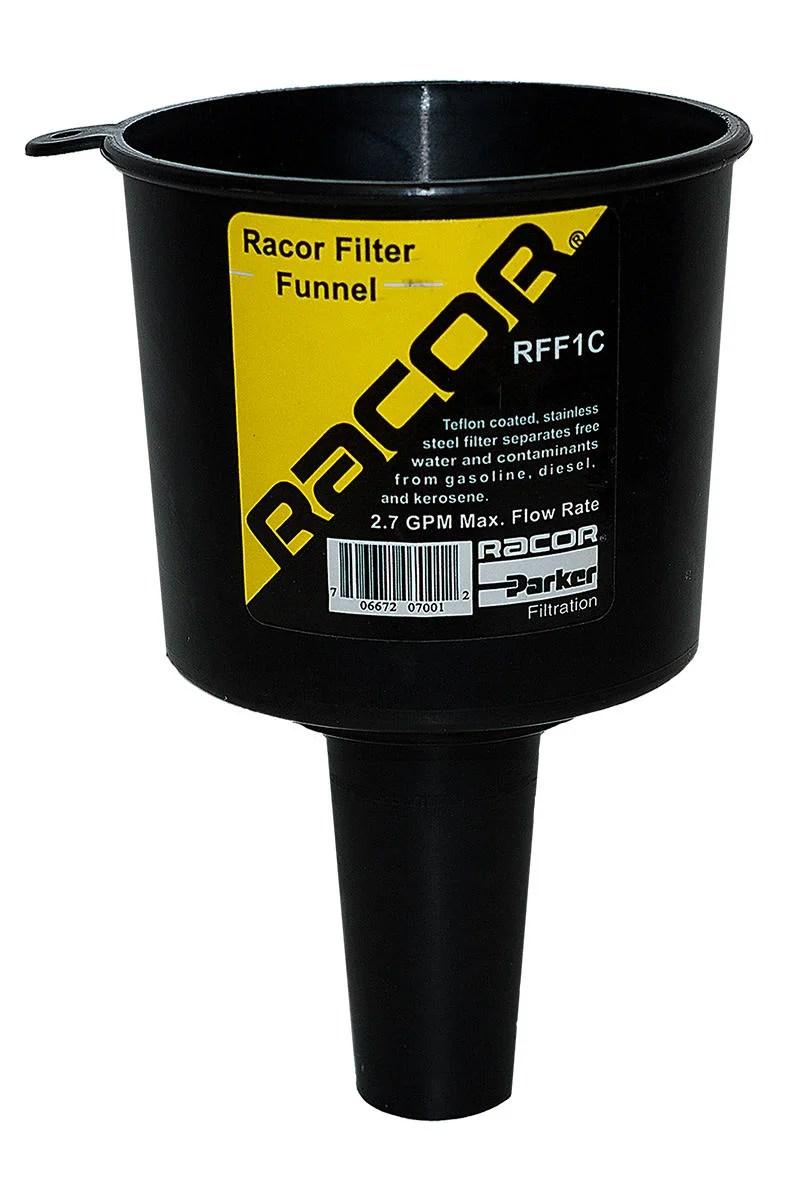 medium resolution of rff1c racor filter funnel
