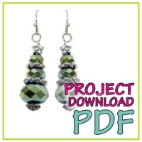Christmas Tree Earring - Download Instructions | Craft ...