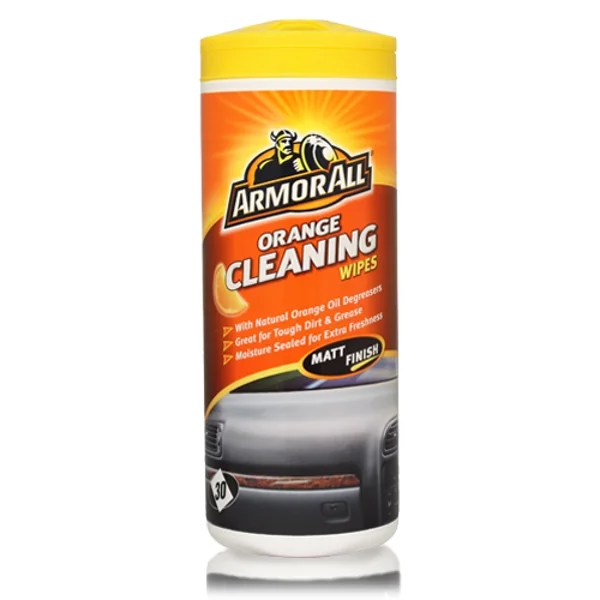 Orange Cleaning Wipes Tub Of 30 by ArmorAll