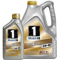 Mobil 1 New Life 0W 40 Fully Synthetic Engine Oil   MB 229 ...