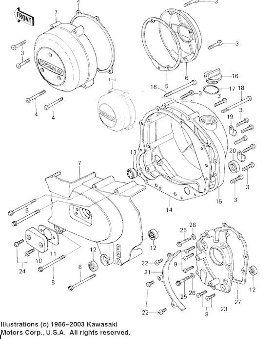 Gasket INNER Transmission : 400/500/550/650/750