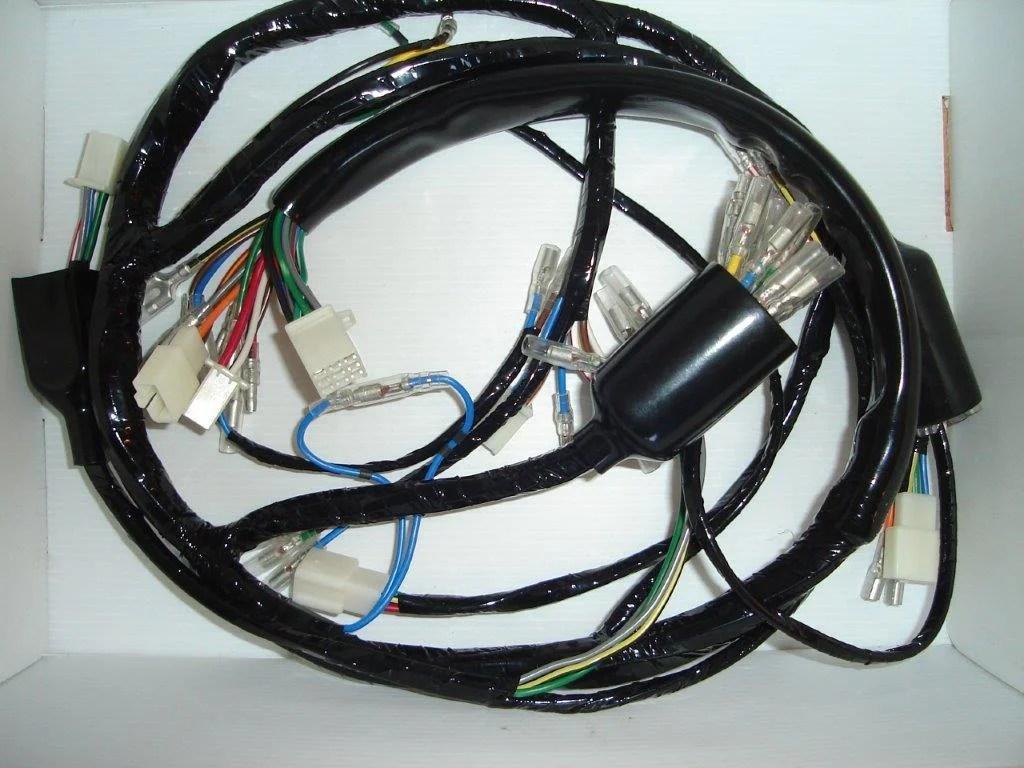 2003 Kawasaki Z750 Electrical Wiring Diagram