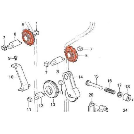 Cam chain idler GEAR (Pattern) Z1-Z900-Z1000