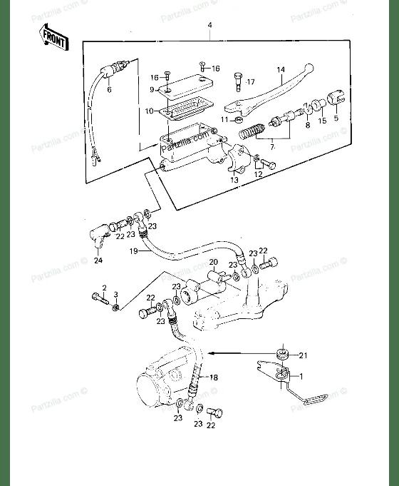 Master cylinder Diaphragm (1008)