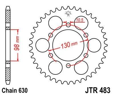 Sprocket REAR 33 teeth Z1-Z900