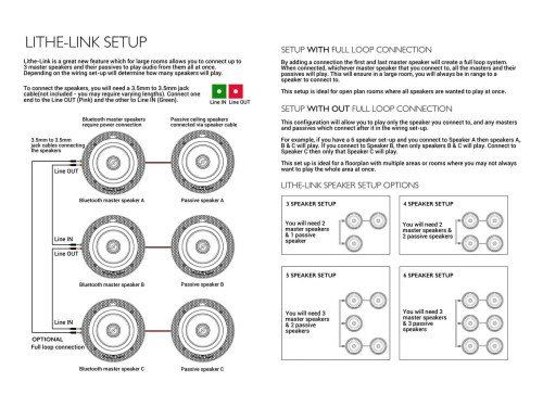 small resolution of wiring diagram for multiple sets of bluetooth ceiling speakers