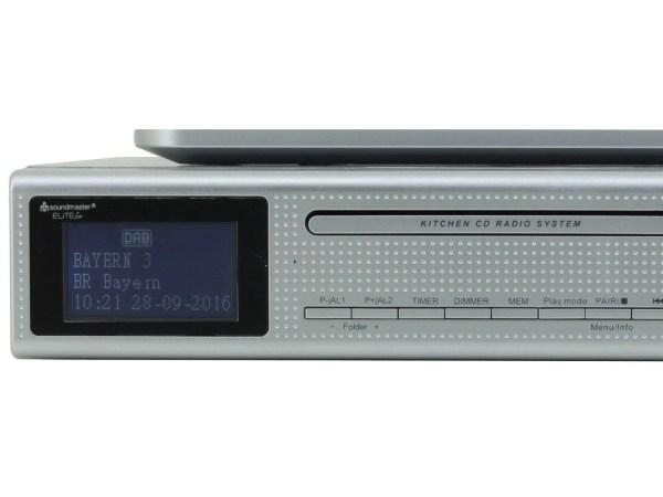 Soundmaster Ur2195si Under Cabinet Kitchen Radio Bluetooth & Cd