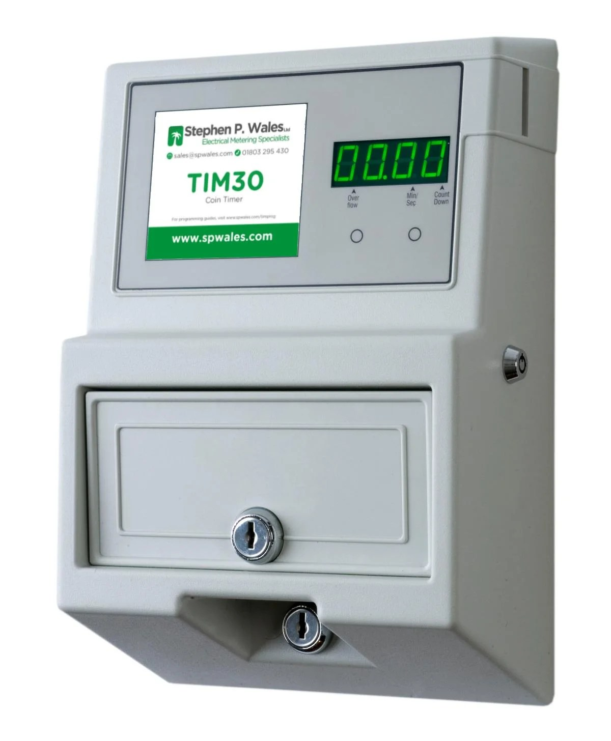 hight resolution of tim30 coin token meter