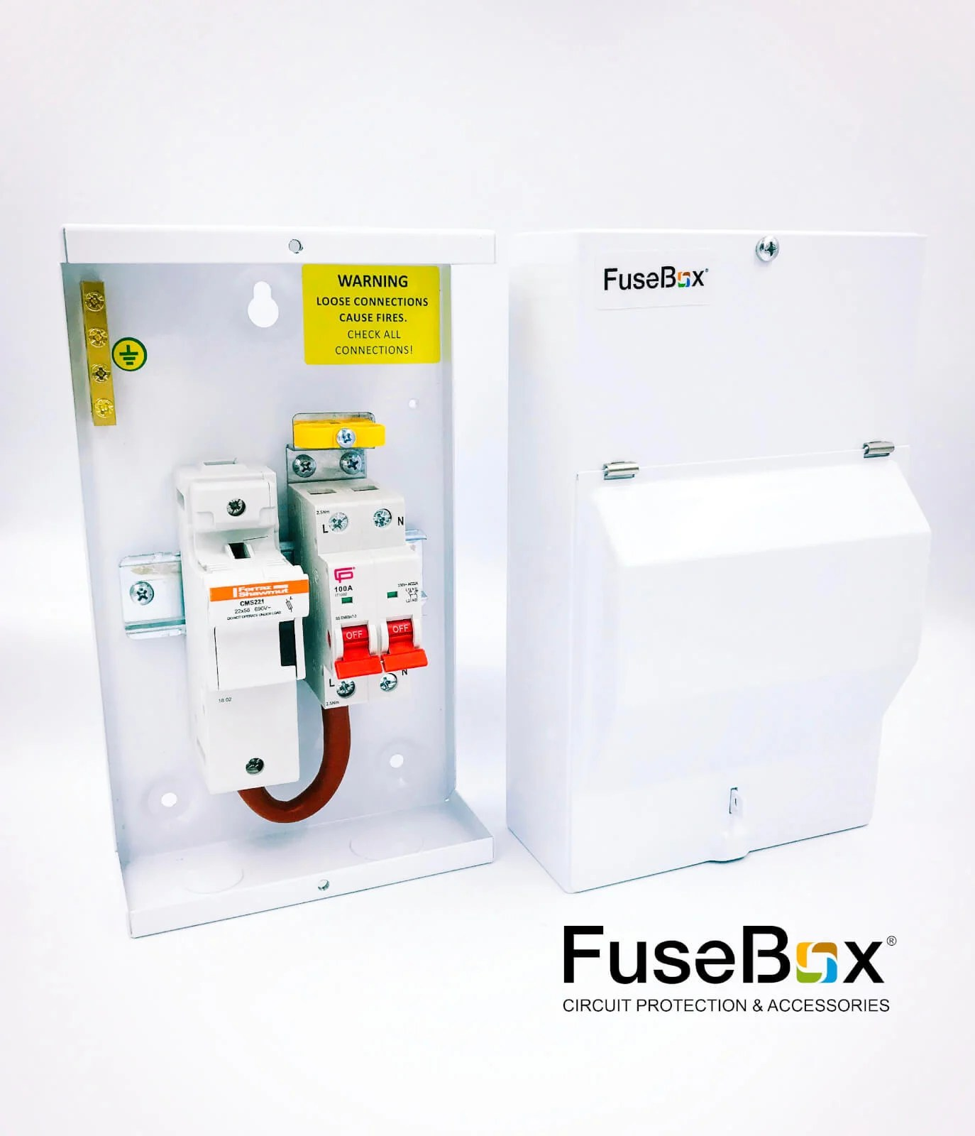 hight resolution of sf0100 fusebox metal clad fused mains switch isolator 100a 1p n inc 63a 80a 100a fuses