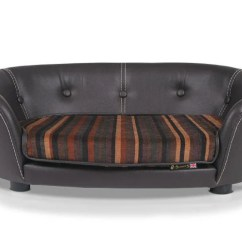 Leather Or Fabric Sofa For Dogs Corner Lounge Ideas Scruffs Regent Handmade Pet Bed