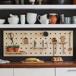 Kitchen Pegboard Pots And Pans Set Made In London With Range Of Accessories Wearth Kreis Design Chef S Edition 4