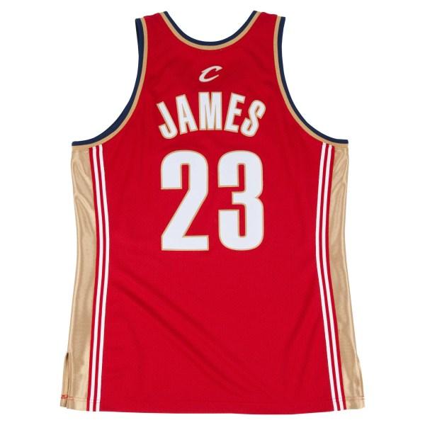 2003-04 Lebron James Authentic Jersey Cleveland Cavaliers