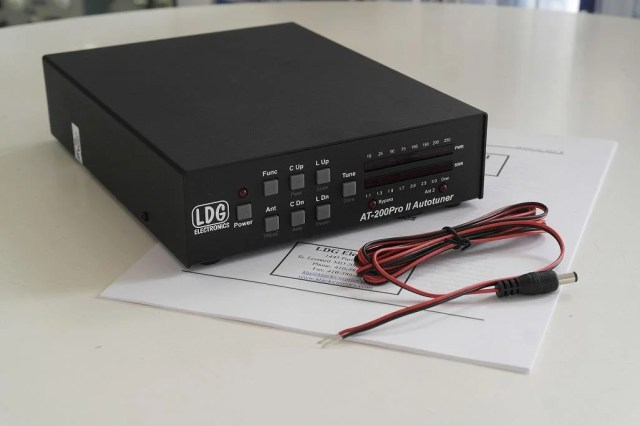 Second Hand LDG AT-200ProII Automatic Antenna Tuner 1