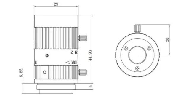 HIKVISION C-Mount 16mm 2/3