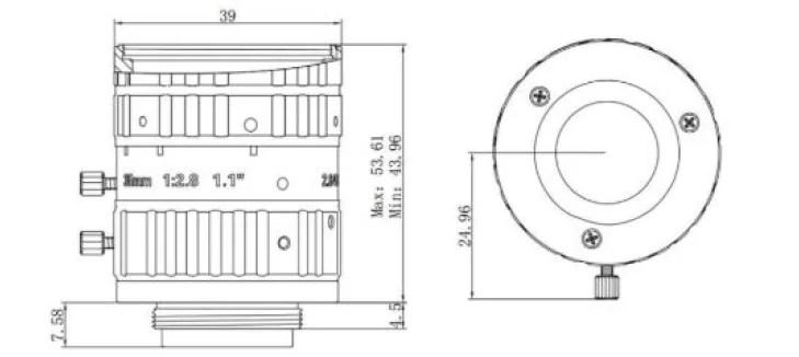 HIKVISION C-Mount 35mm Lens