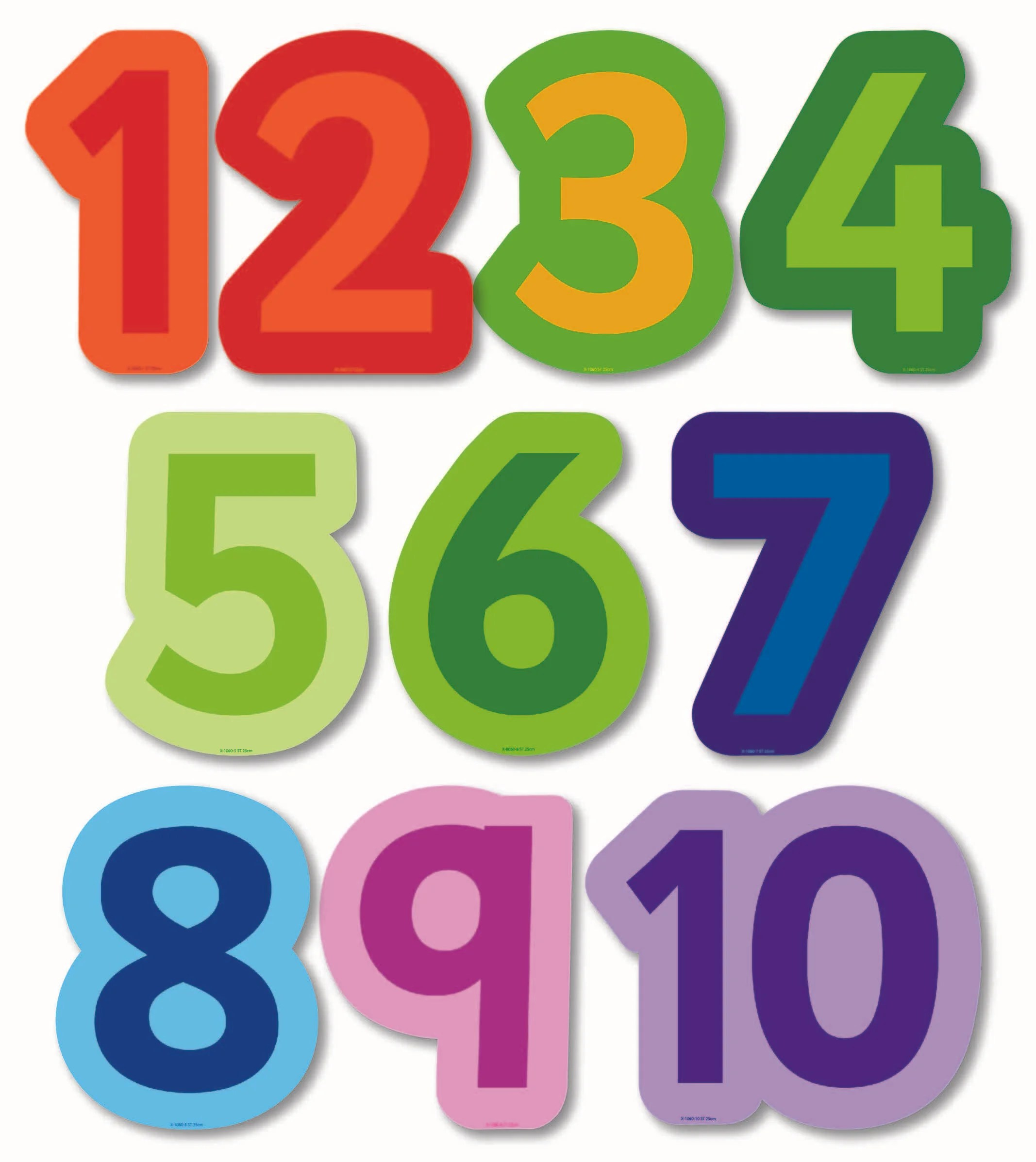 Megasize Cut Out Numbers