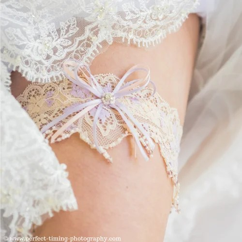 Vintage Wedding Garters Beautifully Gift Boxed for Your