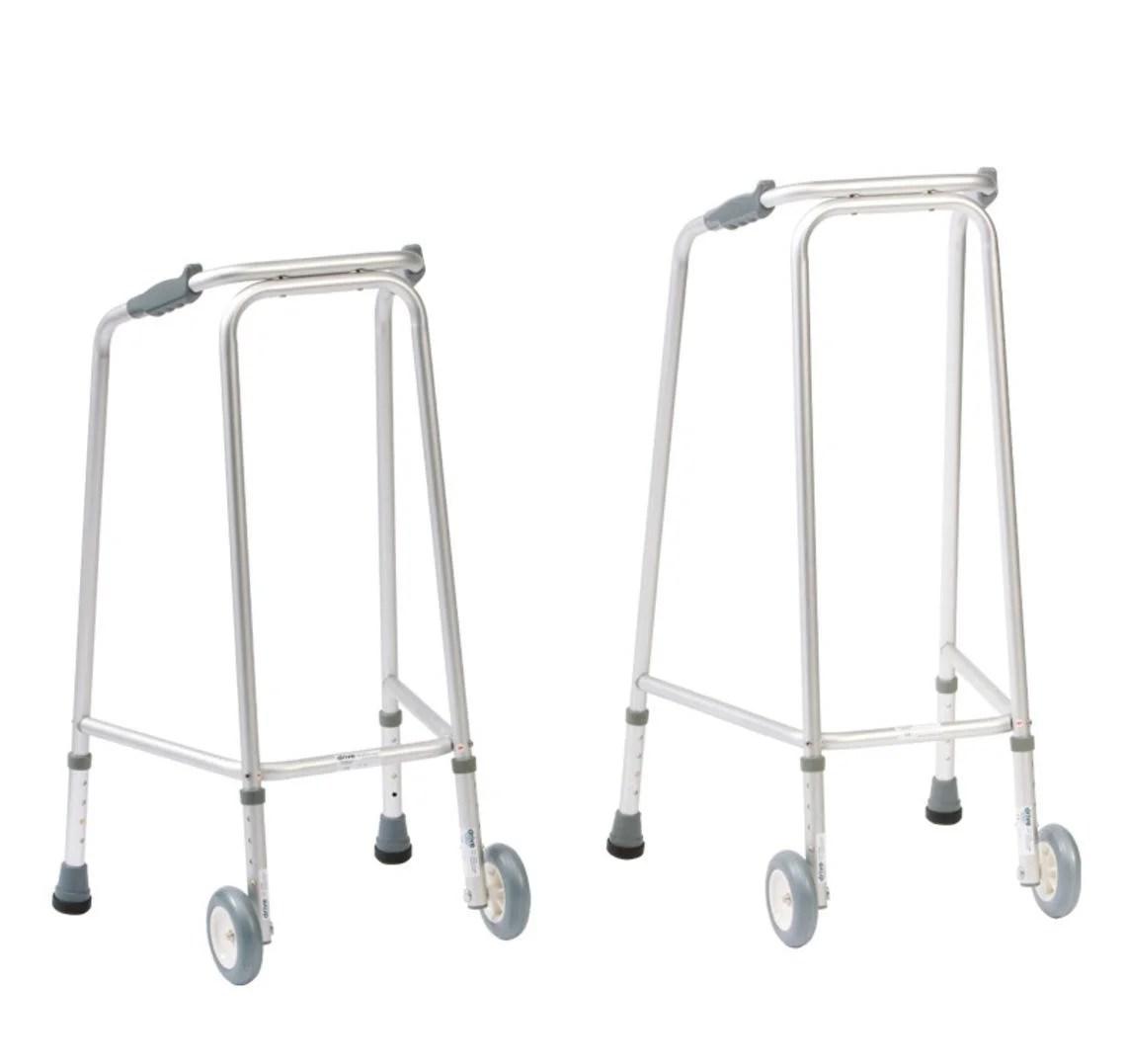 Wheeled Domestic Walking Frames Ultra Narrow Width