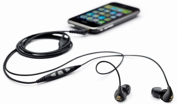 Shure SE115m Sound Isolating Headset with Remote and Mic
