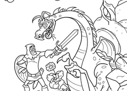 1st Grade Fairy Tales Coloring Pages & Printables