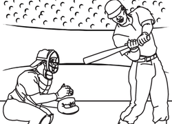 Baseball Coloring Pages Printables Education Com