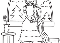 Preschool Fairy Tales Coloring Pages & Printables Page 2