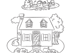 Preschool Life Learning Coloring Pages & Printables