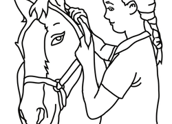 Horse Coloring Pages Printables Education Com
