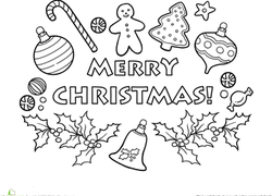 1st Grade Christmas Worksheets & Free Printables