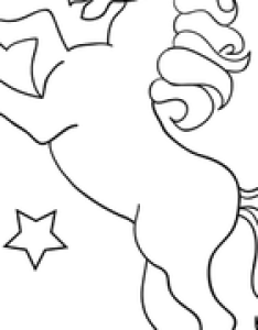 Worksheet unicorn coloring page also kindergarten pages  printables education rh