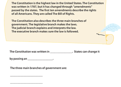 Civics Amp Government Worksheets Amp Free Printables