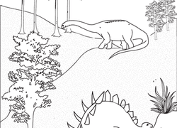 1st Grade Dinosaurs Coloring Pages & Printables