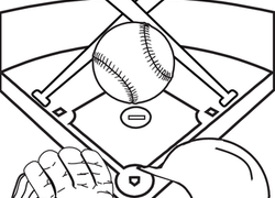 Kindergarten Sports Coloring Pages & Printables Page 2