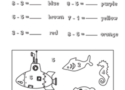 1st Grade Subtraction Worksheets & Free Printables Page 5