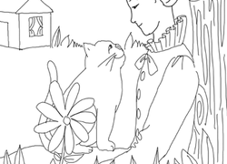1st Grade Fairy Tales Coloring Pages & Printables Page 5