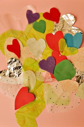 Heart Collage : heart, collage, Heart, Collage, Activity, Education.com
