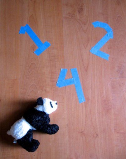 Preschool Reading & Writing Activities: Play Tape Letter Learning Games