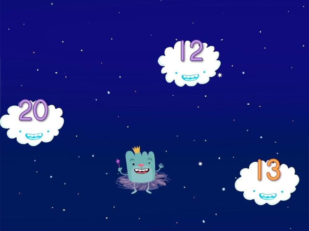 medium resolution of Cloud Catcher 11-20 Game   Game   Education.com