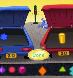 2D and 3D Shape Sort: Car - Math Game   Game   Education.com [ 768 x 1024 Pixel ]