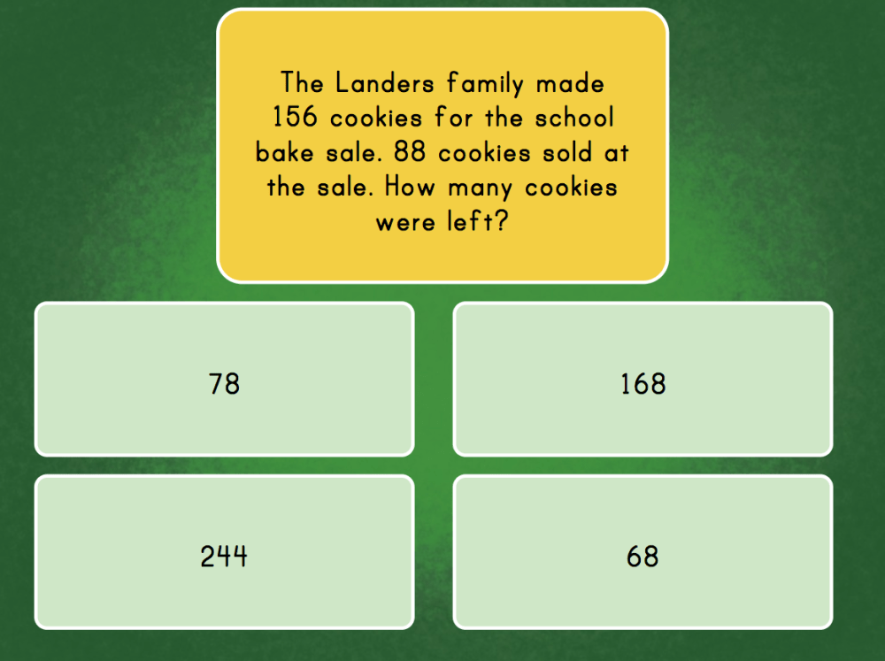 medium resolution of 3-Digit Subtraction Word Problems   Game   Education.com