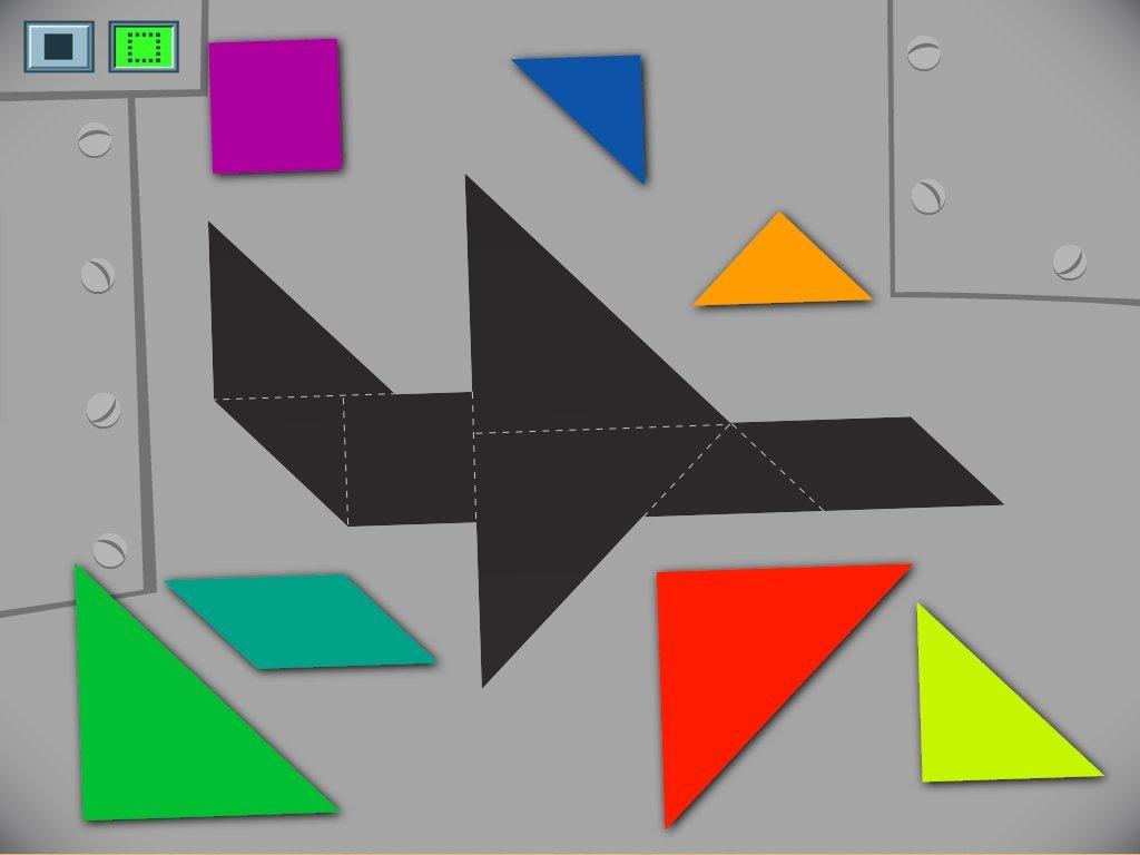 hight resolution of Airplane Tangram Game   Game   Education.com