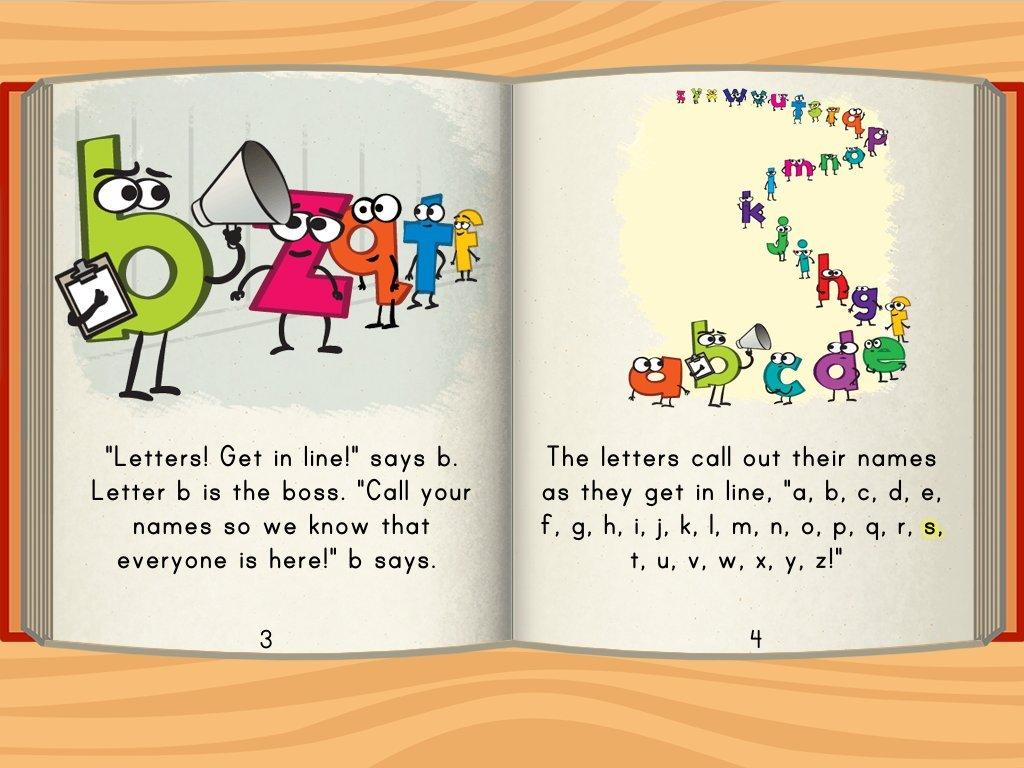 Alphabet Hide And Seek Story Story Educationcom
