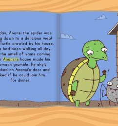 Anansi and the Turtle Story   Story   Education.com [ 768 x 1024 Pixel ]