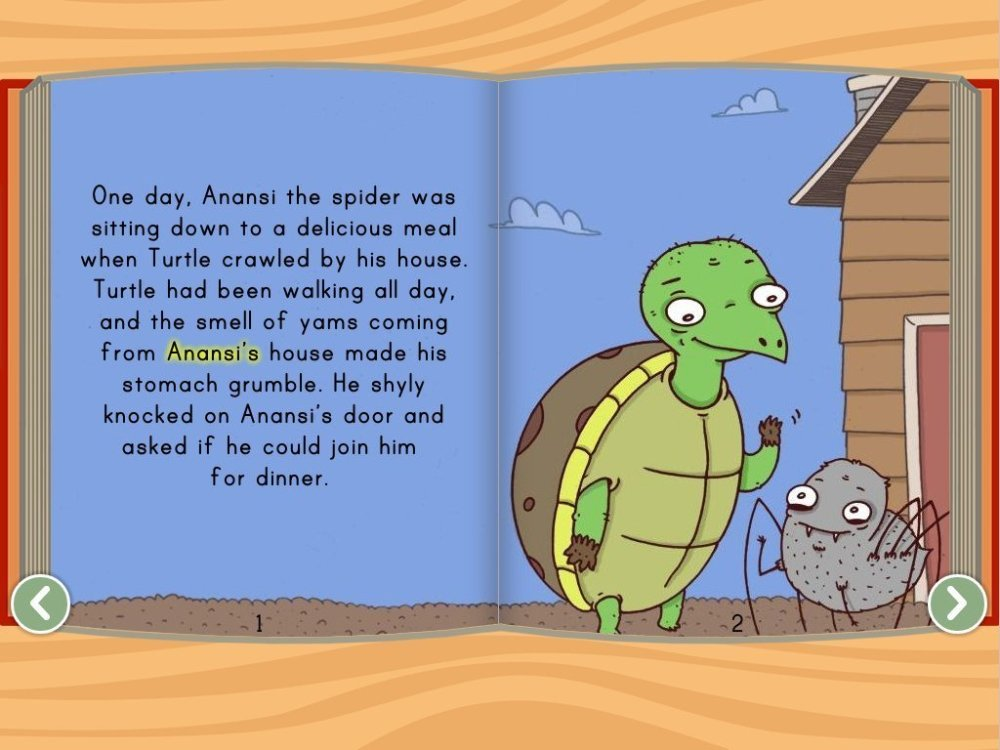 medium resolution of Anansi and the Turtle Story   Story   Education.com
