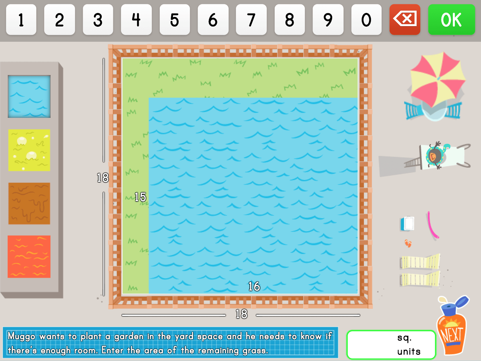 hight resolution of Area Models and Multiplication Word Problems Game   Game   Education.com